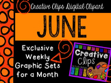 JUNE 2015 Graphics Club {Creative Clips Digital Clipart}