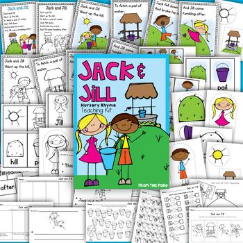 Nursery Rhyme Teaching Kit! {Jack and Jill}