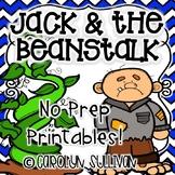 Jack and the Beanstalk NO PREP Printables