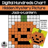 Jack-o-Lantern Hundreds Chart Picture Activity for Hallowe
