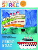 James Rizzi-Inspired Ferry Boats