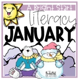 January Morning Bright {Kindergarten Literacy Morning Work}
