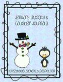 January Morning Literacy & Calendar Work