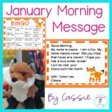 January Morning Message - Morning Work - DOL made fun!