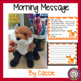 January Morning Message - Morning Work - DOL made fun!