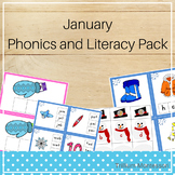 January Phonics and Literacy Pack