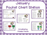 January Pocket Chart Station