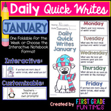 Writing - January Quick Writes