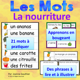 Je travaille mon vocabulaire: La nourriture {French Vocabu