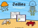 Jellies Review Task Cards for Houghton Mifflin Journeys