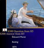 Jeopardy Game Art of Impressionism, Impressionists
