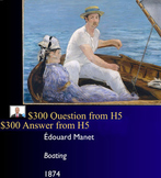 Jeopardy Game Art of Impressionism, Impressionists