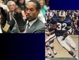 Jeopardy Law Game, O.J. Simpson Cases, Criminal & Civil Law