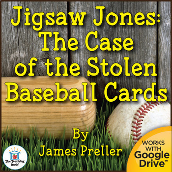 Jigsaw Jones: The Case of the Stolen Baseball Cards Novel Study