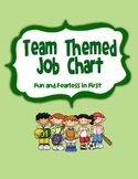 Job Chart - Team/Sports Themed