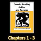 John Gardner's Grendel Guided Worksheet Chapters 1-3