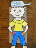 Johnny Appleseed Paper Bag Puppet