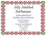 Jolly Jumbled Christmas Sentences {FREEBIE}