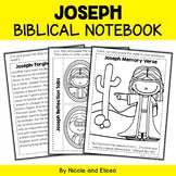 Joseph Bible Unit (text, memory verse & activities)