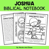 Joshua Bible Unit (text, memory verse & activities)