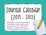Journal Prompt Calendar {2014-2015}