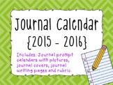 Journal Prompt Calendar {2015-2016}
