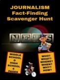 Journalism: Fact-Finding Scavenger Hunt (REVISED)