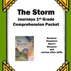"Journeys 1st Grade ""The Storm"" Comprehension Packet"
