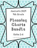 Journeys 2014 4th Grade, BUNDLE Skills Planning Charts
