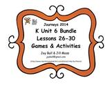 Journeys 2014 Kindergarten Unit 6 Bundle