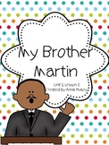 Journeys Fourth Grade: My Brother Martin