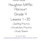 Journeys - HMH © 2011/2012 Grade 4 Vocabulary, Spelling, &