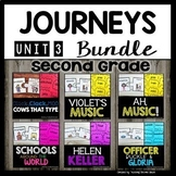 Reading 2nd Grade (Unit 3) Bundle of 5 Stories (30 Literac