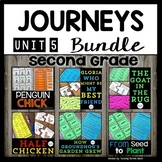 Reading 2nd Grade (Unit 5) Bundle of 5 Stories (34 Literac