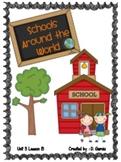 Journeys Second Grade Schools Around the World Unit 3 Lesson 13
