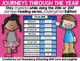 Journeys Through the Year...Kindergarten Edition