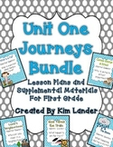 Journeys Unit 1 Supplemental Materials and Lesson Plans fo