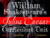 Julius Caesar Unit (Common Core)