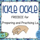 Ickle Ockle FREEBIES: Materials to Prepare and Practice La