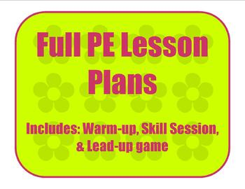 Jump Roping Skills Full Lesson Plan