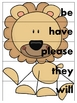Jungle ABC Puzzles (primer Dolch)