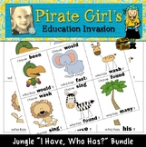 """Jungle """"I Have"""" Game Packet (small cards)"""