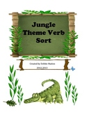 Jungle Theme Verb Sort