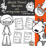 Jungle Theme Take Home and Writer's Folder Covers