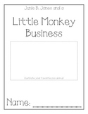 Junie B. Jones Little Monkey Business Comprehension Packet