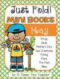 Just Fold! Mini Books {May}