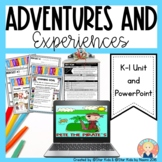 K-1 UNIT PLAN BUNDLE {Adventures and Experiences of Characters}