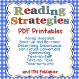 Reading Strategies PDFs Only with Interactive Student Note