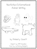 K/1 Nonfiction Writing Unit: Animals