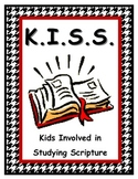 K.I.S.S. Kids Involved in Studying Scripture: Worship Notes